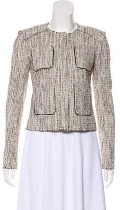 Marissa Webb Textured Button-Up Jacket