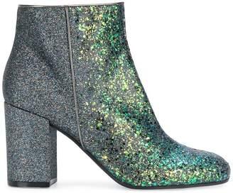 Pollini chunky heel ankle boot