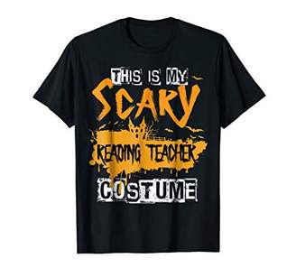This Is My Scary Reading Teacher Costume Halloween T-Shirt