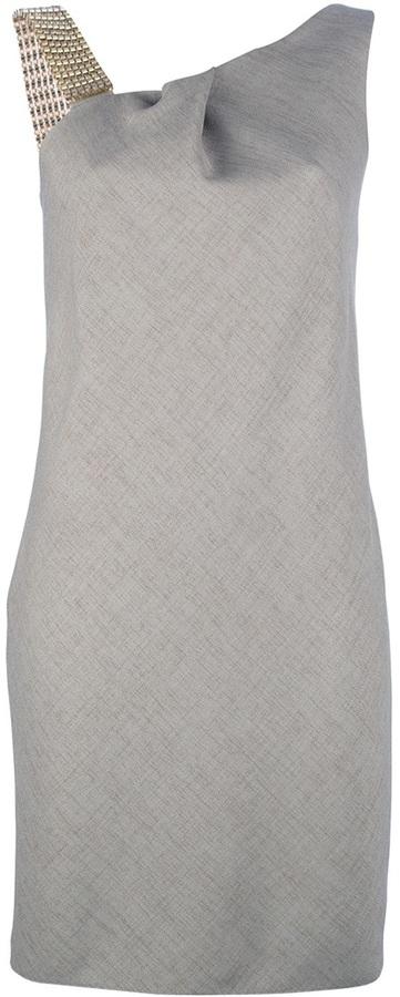 Emporio Armani Asymmetric shift dress