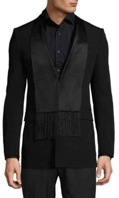 Givenchy Buttoned Wool Evening Jacket