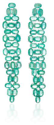 Water Emerald Earrings