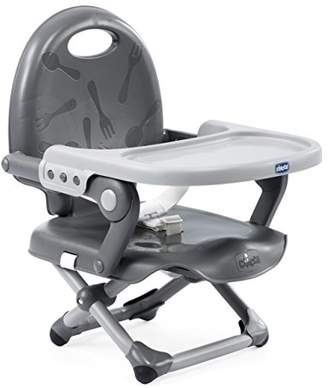Chicco Pocket Snack Booster Seat, Dark Grey