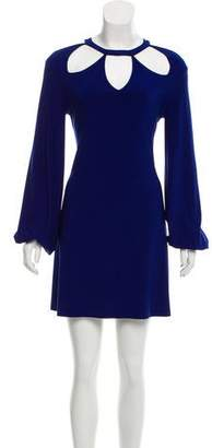 Norma Kamali Long Sleeve Shift Dress