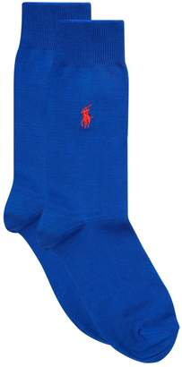 Polo Ralph Lauren Logo Embroidered Socks
