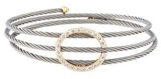 Charriol Diamond Coil Bracelet