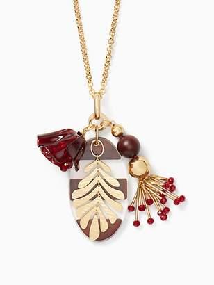 Kate Spade Slice of stone pendant