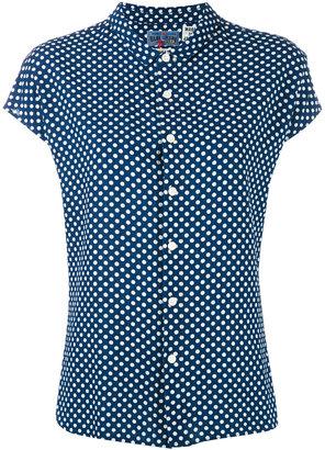 Blue Blue Japan polka dot shirt $303.76 thestylecure.com