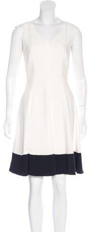 pradaPrada Colorblock A-Line Dress