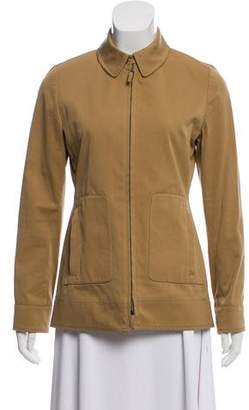 Burberry Casual Zip-Up Jacket