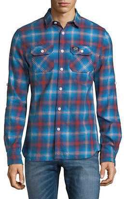 Superdry Plaid Cotton Sport Shirt