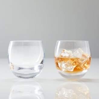 west elm Rocking Whisky Glassware (Set of 2)