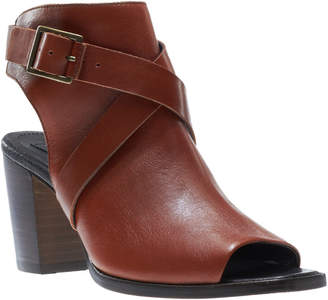 Wolverine Piper Leather Open Toe Bootie