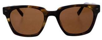 John Varvatos Square Tinted Sunglasses brown Square Tinted Sunglasses