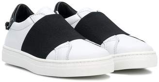 Givenchy Kids contrast low-top sneakers