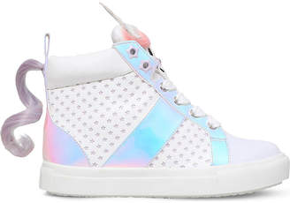 Mini Miss Kg Magical unicorn detail trainers 7-10 years $103 thestylecure.com