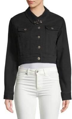 Public School Cropped Denim Jacket