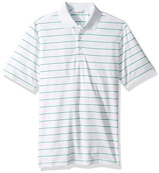 Cutter & Buck Men's Moisture Wicking UPF 50+ Everett Multi-Stripe Polo Shirt