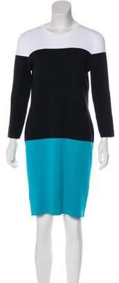 Michael Kors Colorblock Sweater Dress