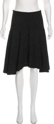 Tibi Textured Knee-Length Skirt