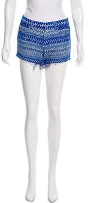 IRO Jacquard Mini Shorts