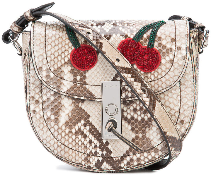 Altuzarra Altuzarra snakeskin effect shoulder bag