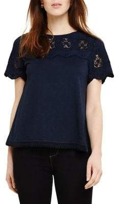 Phase Eight Eliana Embroidered Tee