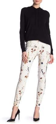 Catherine Malandrino Floral Print Skinny Leg Pants
