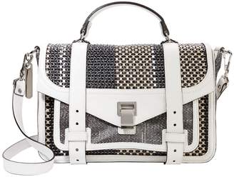 Proenza Schouler PS1 Mixed Woven Medium Satchel
