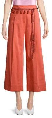 Marella Belted Wide Leg Pants