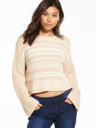 Calvin Klein Jeans Sohn Stripe Sweater - Cream/Tan