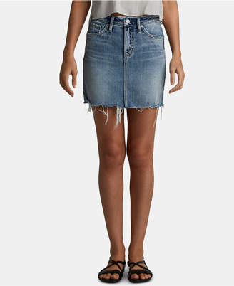 1f8dd162592f Silver Jeans Co. Francy Denim Mini Skirt