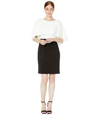 Calvin Klein Color Block Popover Dress