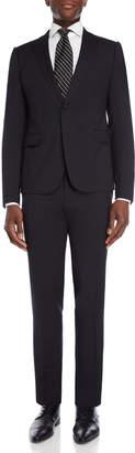 Armani Collezioni Navy M Line Wool Suit