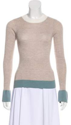 See by Chloe Crew Neck Wool Sweater