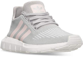adidas Women's Swift Run Casual Sneakers from Finish Line $84.99 thestylecure.com
