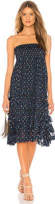 Rebecca Taylor Speckled Dot Convertible Skirt