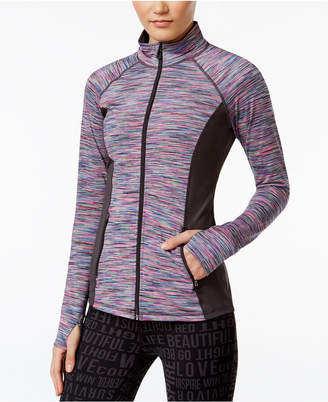 Ideology Full-Zip Space-Dyed Jacket $69.50 thestylecure.com