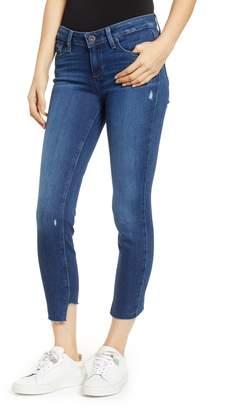 Paige Verdugo Slant Hem Crop Skinny Jeans