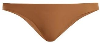 JADE SWIM Most Wanted Low Rise Bikini Briefs - Womens - Brown