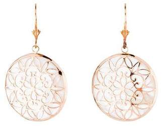 Mother of Pearl 14K Earrings