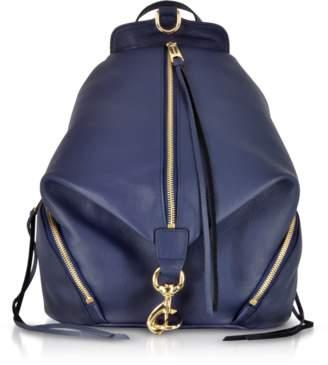 Rebecca Minkoff True Navy Blue Leather Julian Backpack