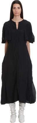 Jil Sander Liza Dress In Black Viscose
