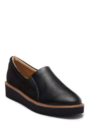 Naturalizer Effie Platform Wedge Loafer - Wide Width Available