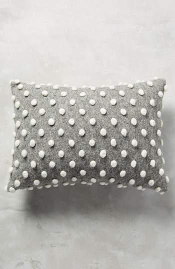 Woolen Pom Accent Pillow