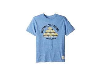 Original Retro Brand The Kids Vintage Tri-Blend Short Sleeve Working on a 6-Pack T-Shirt (Big Kids)