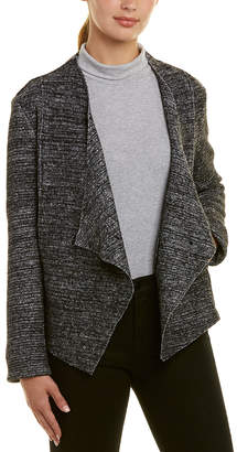 Bagatelle Draped Wool-Blend Jacket
