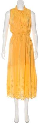 See by Chloe Embroidered Sleeveless Maxi Dress w/ Tags