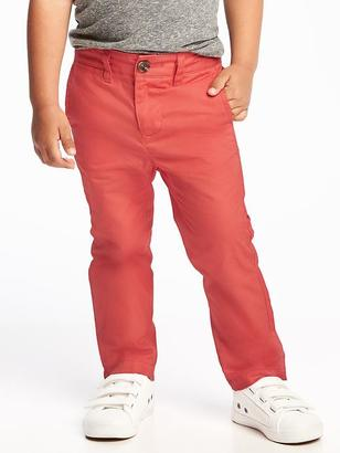 Skinny Pop-Color Khakis for Toddler Boys $16.94 thestylecure.com
