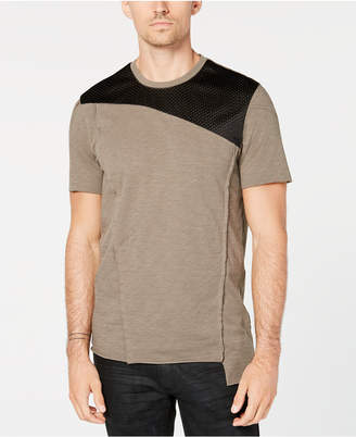 INC International Concepts I.n.c. Men's Colorblocked Mesh T-Shirt, Created for Macy's